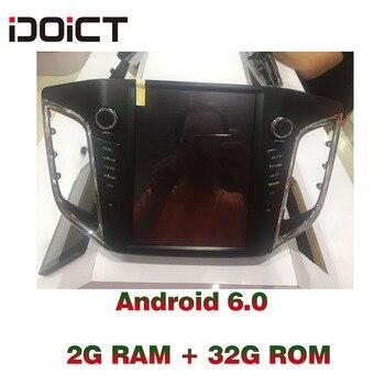 IDOICT Android 6.0 Car DVD Player GPS Navigation Multimedia For Hyundai Creta IX25 Radio 2014-2017  car stereo wifi