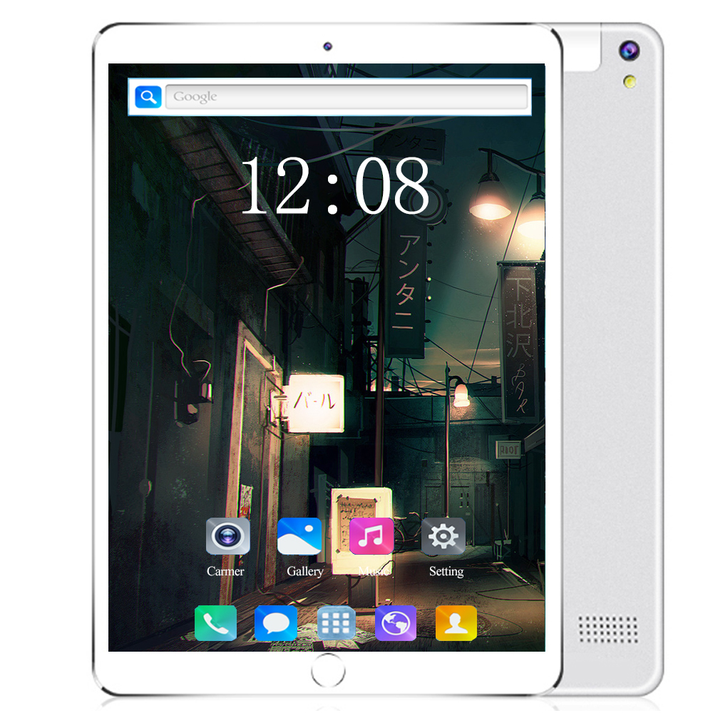 New 10 Inch 8/Octa Core Android 8.0 Tablet Pc 1280*800 IPS 6GB/128GB Dual SIM Tablet 3G/4G LTE Phone Call Video Pc Tablets 10.1
