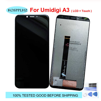 For Umidigi A3 A3S LCD Dispaly Touch Screen Digitizer Assembly Repalcement For UMI UMIDIGI A3 A3S Cell Phone Repair Screen