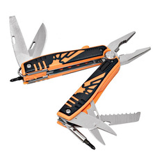 New Telescopic Pliers Multi-tool Retractable With Batch Head Hand Tool Knife Multi Functional