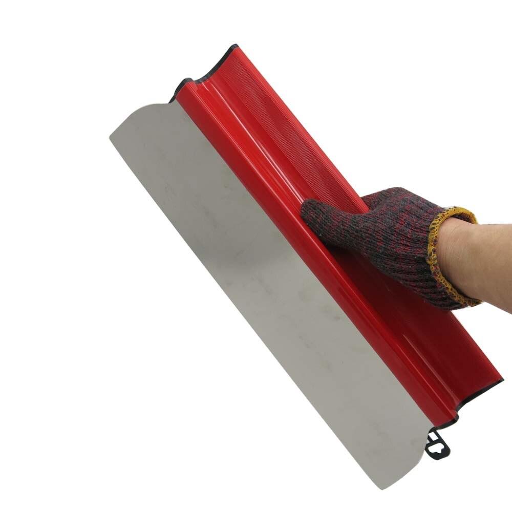 Herramienta para alisar paneles de yeso Ideal para herramientas de pared y pintar cuchillas de desnatado acabado espátula alisadora Flexi blade 15,7