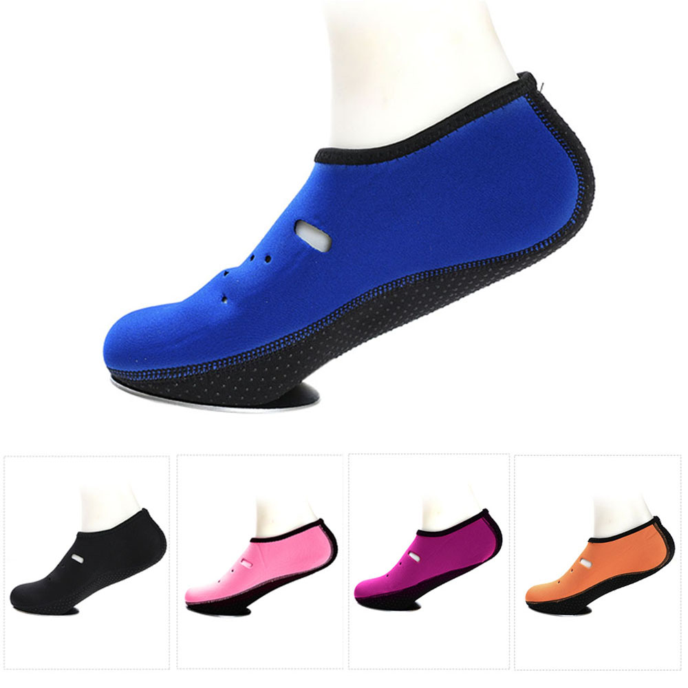 1 Pair Anti-skid Water Shoes Slipper Quick-dry Barefoot Diving Socks Beach Snorkeling Swimming Surfing Socks For Men Women