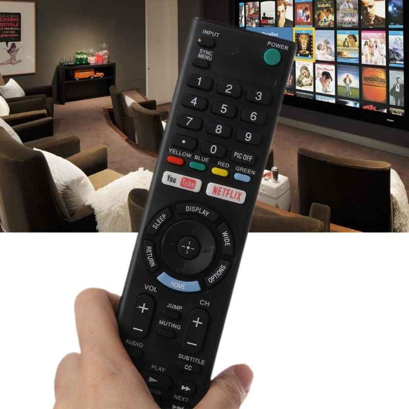NEW UNIVERSAL REMOTE CONTROL REPLACEMENT FOR SONY KD-55X720E LCD LED TV