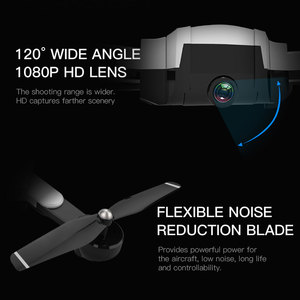 Image 3 - SG900s GPS Drone HD Camera 1080P Foldable Helicopter 300m RC Quadrocopter WIFI FPV gesture photo Professional Selfie VS SG106
