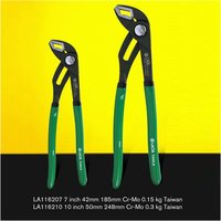 LAOA Water Pump Pliers Plumber Pipe Universal Wrench Plumbing Grip Pipe Combination Pliers Plumber Hand Tools|Pliers|   -
