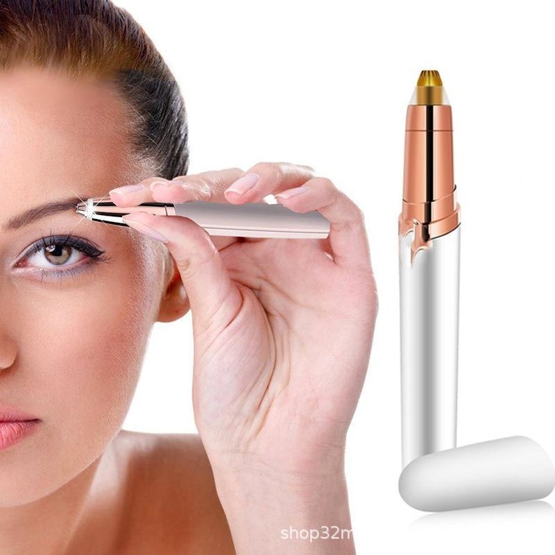 Eyebrow Epilator Maquiagem Profissional Completa Trymer Do Brwi Eye Brow Trimmer For Rasoir Visage Femme Make Up Eye Brow Shaper