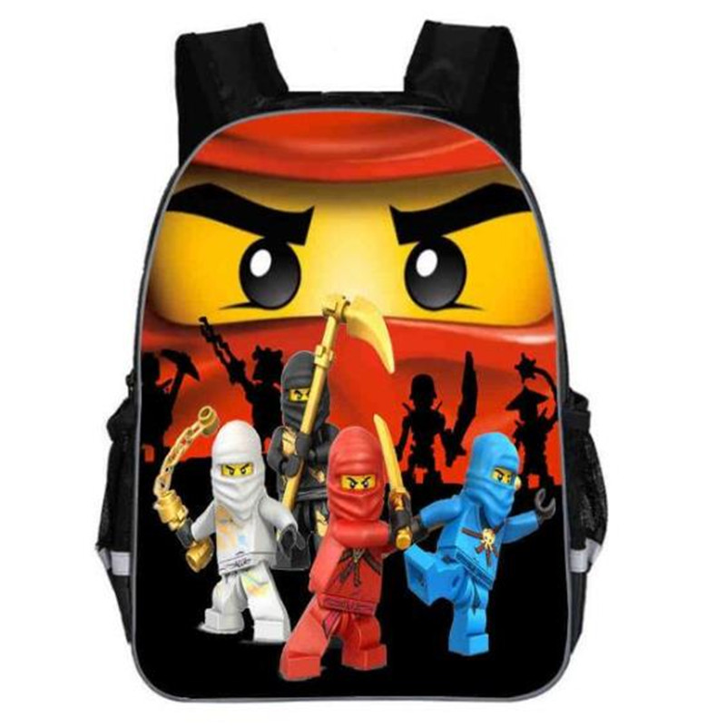 11/13/16 Inch Ninjago Game School Bags For Kindergarten Children Kids School Backpack For Girls Boys Children's Backpacks