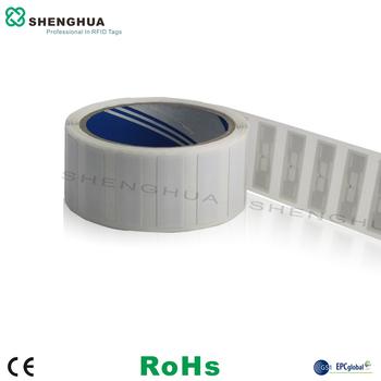 10 sztuk partia tanie hurtowych małe naklejki RFID mocny klej 860-960MHz obcych h3 układu antena rfid uhf RFID próbki opakowanie etykiety tanie i dobre opinie JMSHRFID SH-L3914 UHF passive RFID tags 860~960MHz 39*14mm(Customized Design) PET+AL Copper paper Up to 512bit Alien H3(Customized Design)