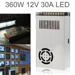 DC 12V 30A 360W przełącz zasilanie Adapter sterownika/transformator źródłowy do taśmy LED światła/przemysłowe/urządzenia monitorujące