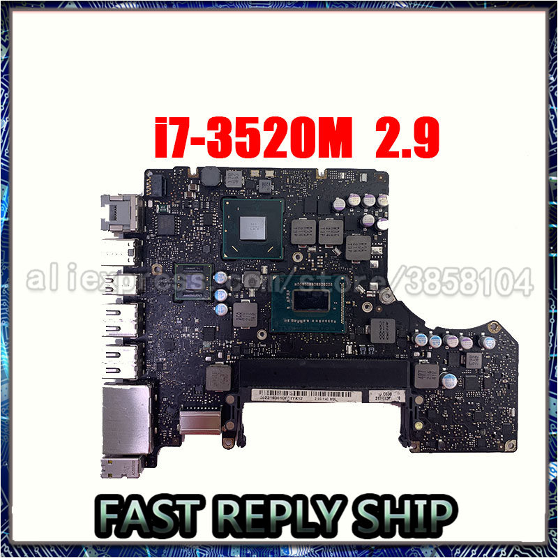 Placa base del sistema 820-3115-B A1278 para MacBook Pro 2012 13
