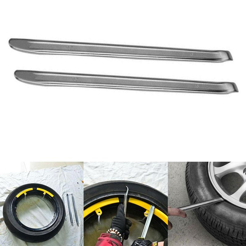 1pcs/set Tyre Crowbar Motorcycle Tire Lever Changer Rim Protector Tool High Carbon Steel Tire Skid Pry Plate Car Repair Tools