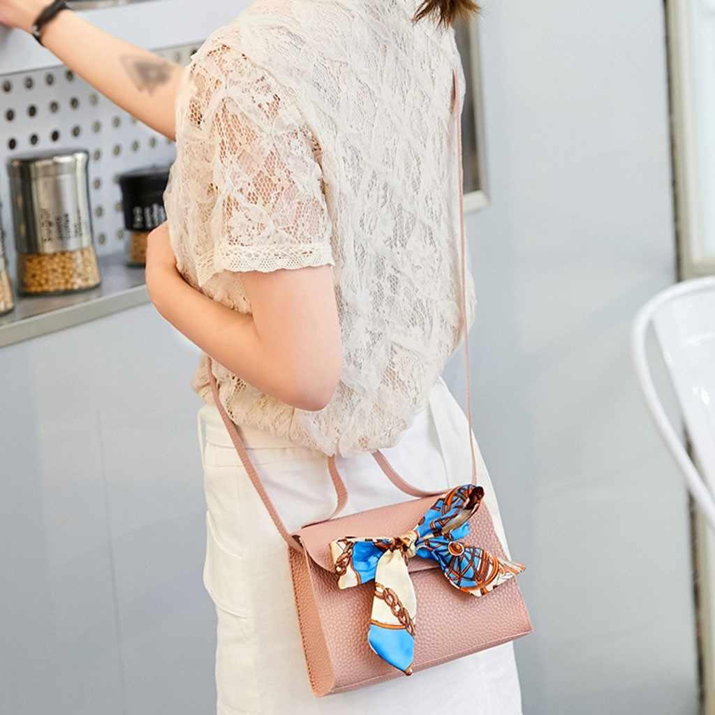 Wanita Tas Bahu Fashion Crossbody Wanita Bahu Tas Kecil Penutup Gesper Huruf Dompet Mobile Messenger Tas Hot Sale # P