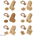 100Pcs Kraft Brown Gift Tags Thank You tags for Wedding Party decorations Handmade Gift Cards Baking Packaging Hang decoration