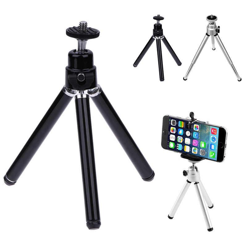 Di Động Điện Thoại Di Động Mini Mini Dẻo Chân Giá Đỡ Máy Chụp Hình Monopod Selfie Stick Ổn Định Đế Pin Cho Nhẹ Camera Mini