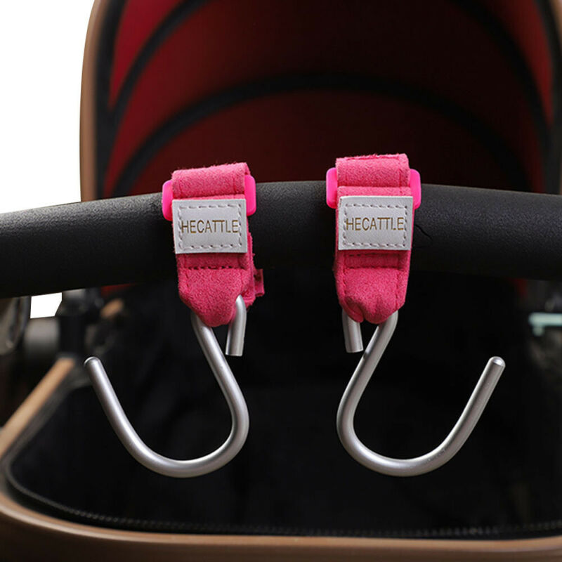 New Fashion Baby Pushchair Stroller Clip Hooks Buggy Pram Kid Diaper Bag Hanger Safe Carrier Pouch Hanging Cart Hooks