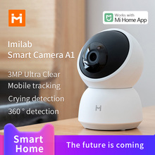 IMILab Smart Camera A1 1296P HD Smart Webcam 360° Vision Video Camera View Baby Security Monitor work for Mi home APP
