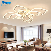 LED Modern living room ceiling lamps simple Novelty Acrylic ceiling lights creative bedroom fixtures diningroom ceiling lighting hghomeart ceiling lights bedroom room e27 lamp110v 220v kids ceiling lamps american retro style acrylic shade rainbow fixtures