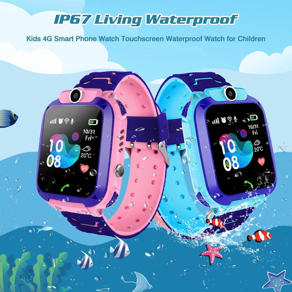 2020 4G Kids Smart Watch GPS Smart Watch Kids Video Call SOS Phone Watch IP67 Waterproof Baby Clock K22 Children's Smartwatch