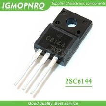 10 unids/lote 2SA2222 2SC6144 tubo A2222 / C6144 TO 220F nuevo original