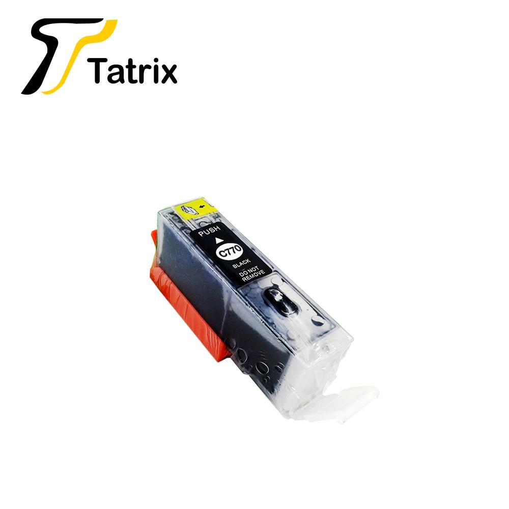 Canon for TS8070 TS6070 TS5070 MG7770 MG6870 MG5770 - Grey PIXMA CLI-771 Ink Tank