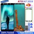 Super AMOLED ЖК дисплей для Samsung Galaxy A7 2018 ЖК A750 ЖК-дисплей A750F SM-A750F A750FN A750G сенсорный экран дигитайзер в сборе