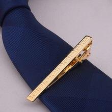 Homens metal liga clipe de gravata braçadeira barra de gravata fecho casamento noivo negócios moda presentes formais eig88