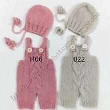 Newborn Photography Props, Newborn Hats & Pants, Hand-woven