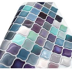 Arabic Lantern Moroccan Tile Self Adhesive Baffle Back 3D Mosaic Wallpaper Ethylene Bathroom DIY Decor-1 Sheet