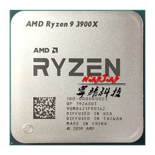 CPU Processor 3900x3.8 Twelve-Core 24-Thread Amd Ryzen AM4 Ghz 7NM R9 L3--64m 100-000000023-Socket