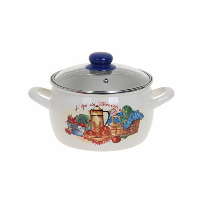 Pan METROT, 2617/Provence, 3 L, with glass cover, Exclusive odeon 2617 2617 3