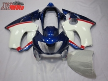 New ABS Fairing Kit For Honda CBR600F F4 1999-2000 Injection Motorcycle plastics 99-00 Blue and White Bodyworks