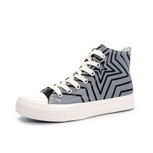 2020 Spring New All-match Round Head Fashion Shoes Korean Canvas