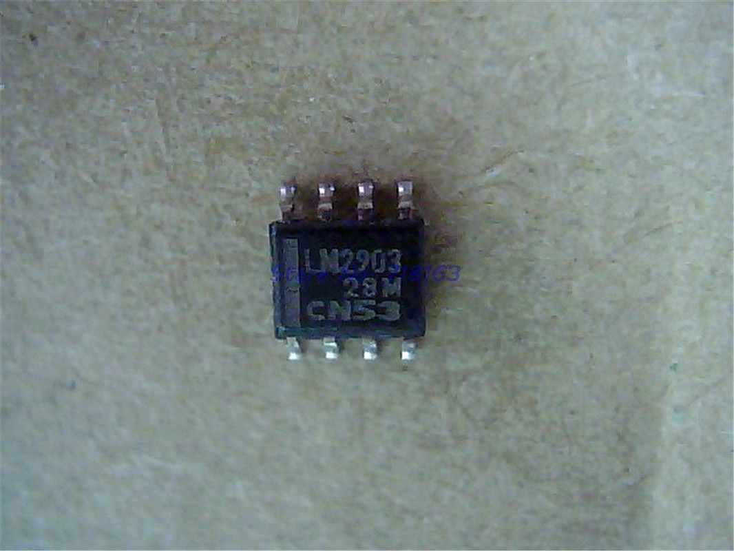 10pcs/lot LM2903DR2G LM2903DR LM2903 SOP-8 In Stock