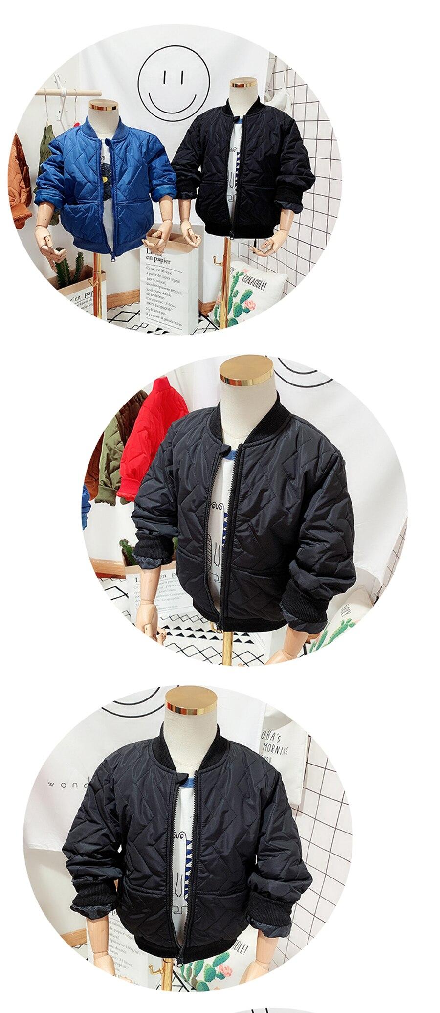 Algodão crianças jaqueta casaco 2019 outono e
