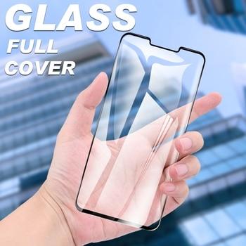Перейти на Алиэкспресс и купить Полное покрытие защитное стекло для LG G8X G8S G8 G7 G6 Q7 Q6 Plus V60 V50S V40 V50 ThinQ 5G Закаленное стекло Защитная пленка для экрана