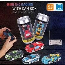 1:58 uzaktan kumanda MINI RC araba pil kumandalı araba yarışı PVC kutular paketi makinesi Drift-Buggy Bluetooth radyo kontrollü oyuncak çocuk