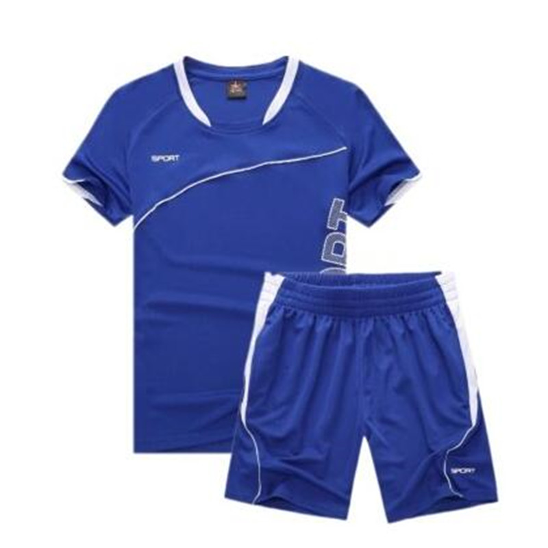 Men's Sports Women's Summer New Short Sleeve Shorts Two-piece Loose Two-piece Suit Tracksuit Football Jersey Basketball Clothes