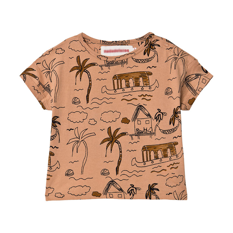 Nadade**zos Kids Summer Fashion T Shirt High Quality Toddler Boys Girl Casual T-shirts watermelon Pattern Hawaii Kid Unisex Tops