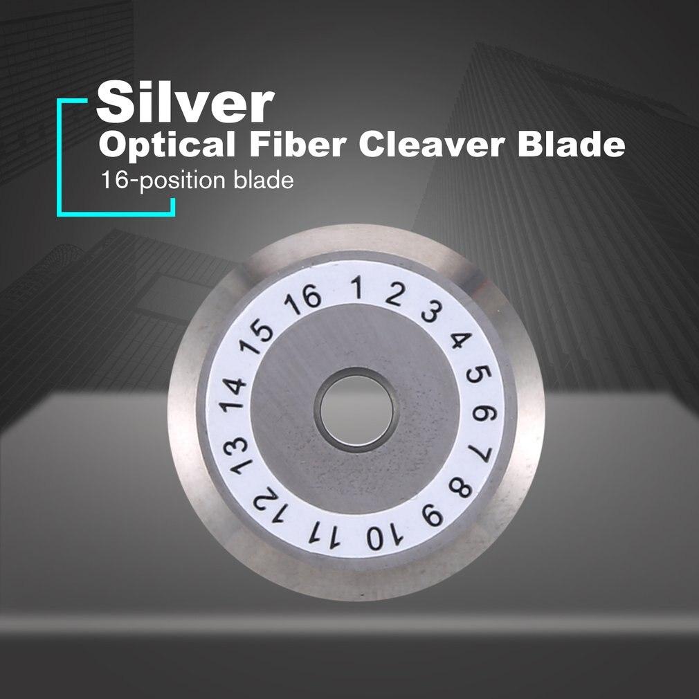 Optical Cleaver Blade High Precision Fiber Cutting Knife Fiber Cutter Blades Fiber Cleaver Replacement Blade Without Hole