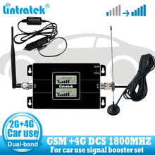 Auto Gebruik Cellulaire Repetidor GSM 900 LTE 1800 2G 4G Antenne Signaal Booster Mobiel Cellular GSM 4G signaal Repeater Versterker