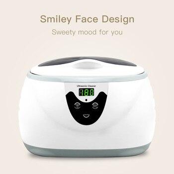 Skymen 600ml Ultra Sonic Cleaner Manicure Ferramentas De Limpeza Sônica Jóias óculos Dentura Casa Ultra-som Banho Máquina Lavar Roupa