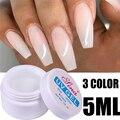 3 цвета Nail Art фототерапии клей акриловых жидких УФ-гель для дизайна ногтей наращивание ногтей гель 3D, инструменты для ногтей, аксессуары для ...