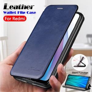 Étui à rabat en cuir de luxe pour xiaomi redmi note 8t 8pro support portefeuille Coque de téléphone sur xiomi xaomi redmi note 7 8 pro t funda