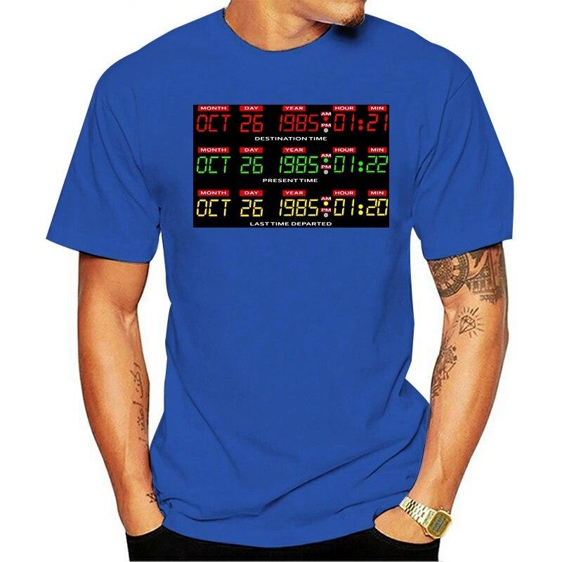 Снова для будущего проектора натуральный новый стиль primavera Размер 2021 футболка s-5xl luz solar masculina