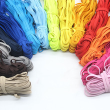 Rope-Ribbon Rubber-Band Waist-Band-Garment Lace-Trim Elastic-Cord Sewing Colorful DIY
