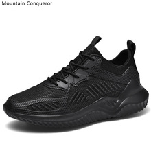Mountain Conqueror 2019 New Air Mesh Sneakers Men Women Shoes Plus Size 35-48 Designer Chunky Breathable Casual