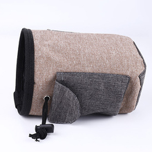 Pet Dog Training Treat Bag Snack Carrier Outdoor Food Pockets Drawstring Closure Pouch