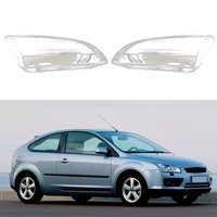 Car Headlight Clear Lens Cover Lampshade Transparent Car Head Lamps Cover Glass Shell For Focus 2005-2008
