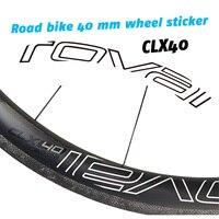 Roval Clx 40 Racefiets Twee Wielen Stickers Voor 40 Mm Wielset Fiets Decals Gratis Verzending-in Fiets Stickers van sport & Entertainment op