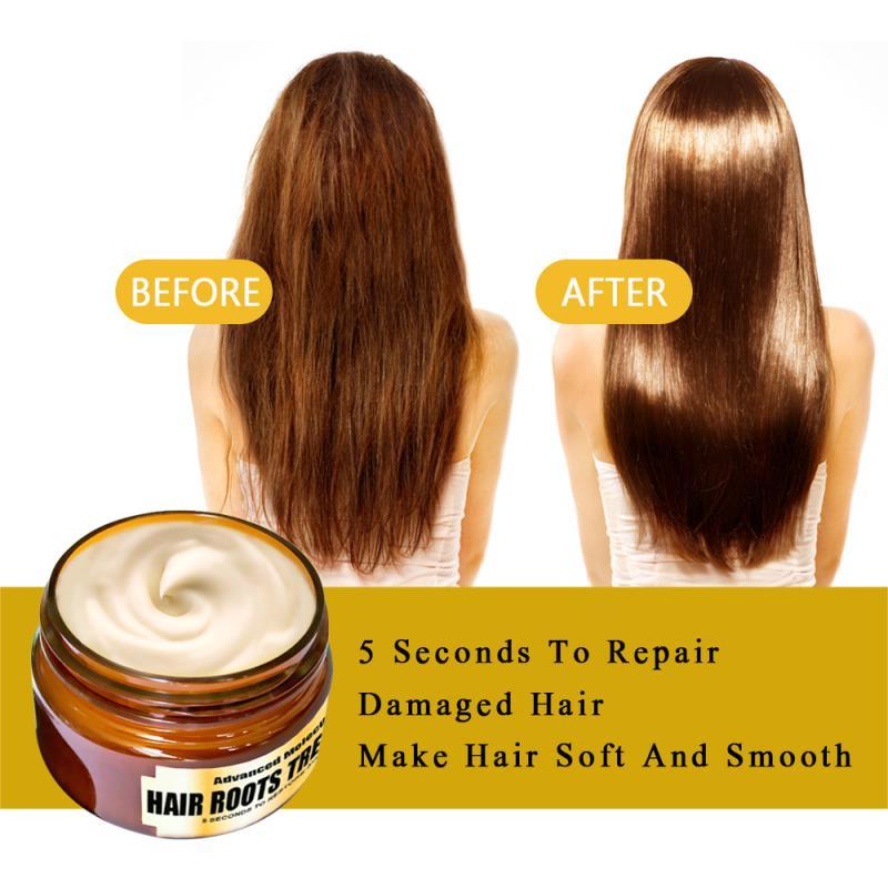 Mascarilla mágica para tratamiento capilar de queratina para todo tipo de cabello tratamiento para el cuero cabelludo y el cabello nutrición infusión reparación daño cabello TSLM1 Tratamientos de cuero cabelludo y cabello    - AliExpress